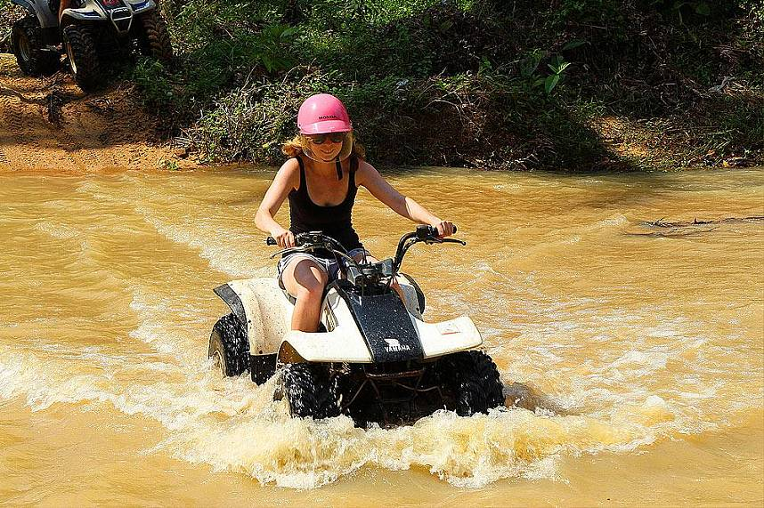 Samui Quad ATV welcomes you for lots of fun