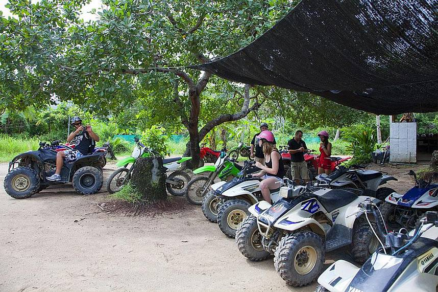 Get ready for an unforgettable ride at Samui Quad ATV