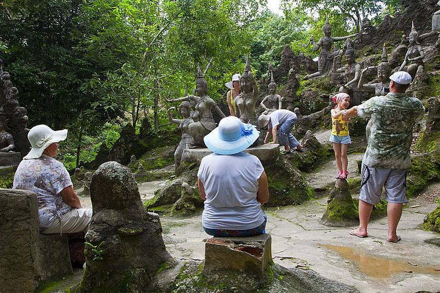 Tanim Waterfall and Magic Garden Koh Samui is the place to visit during your Thailand holiday