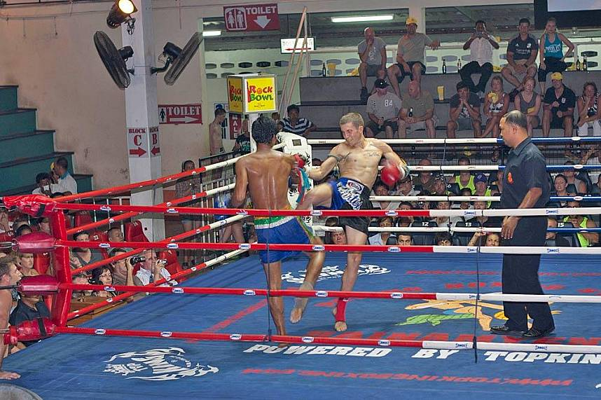 Visit the Patong Boxing Stadium in Phuket for a real Thai fight