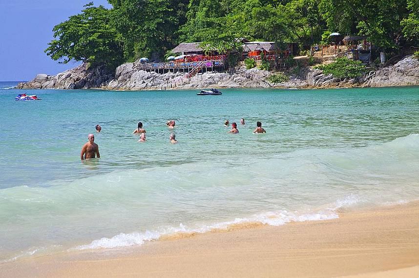 Laem Singh Beach in Phuket is the place to be during your Thailand holiday