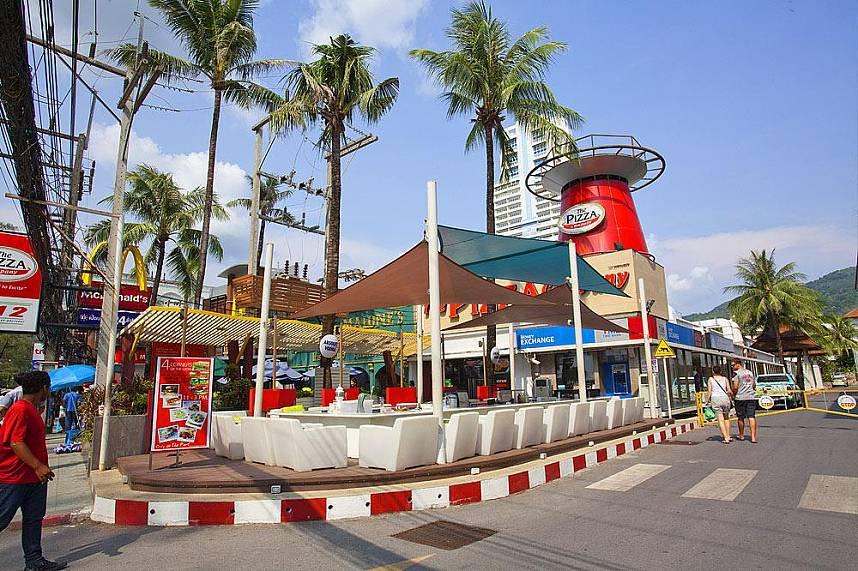 Patong is the most popular town in Phuket