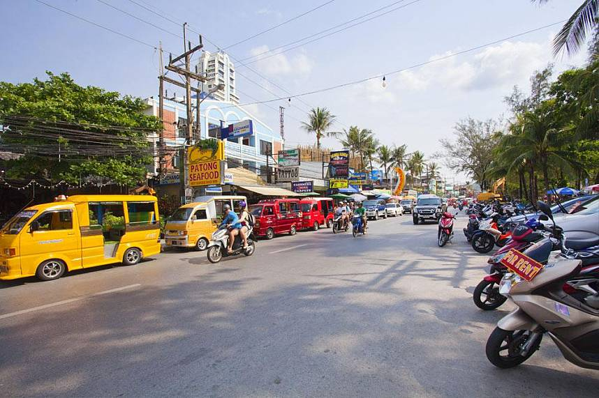Patong is a great place for shopping and dining and entertainment