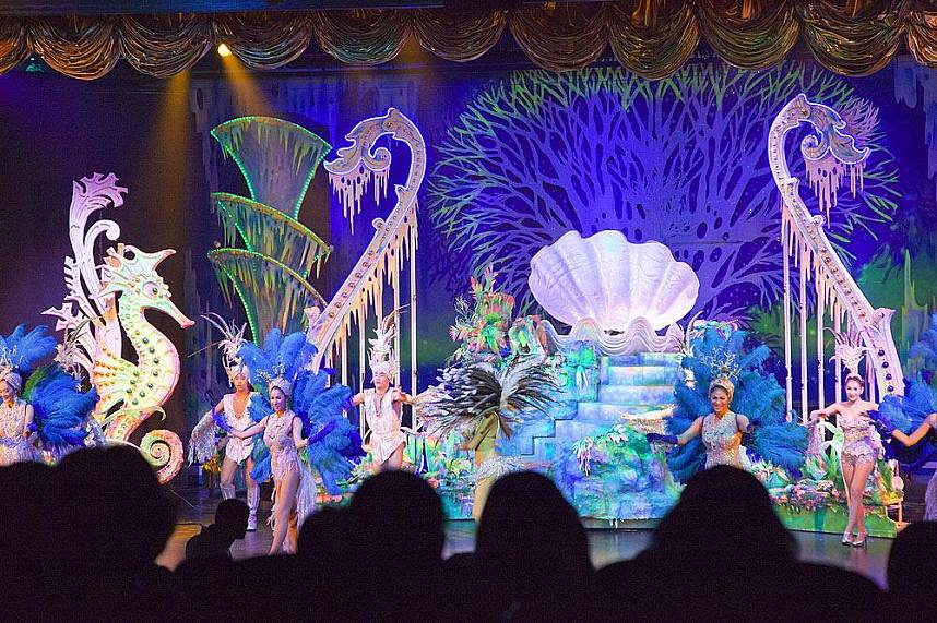 Spend an evening full of fun at Aphrodite Cabaret Show in Phuket