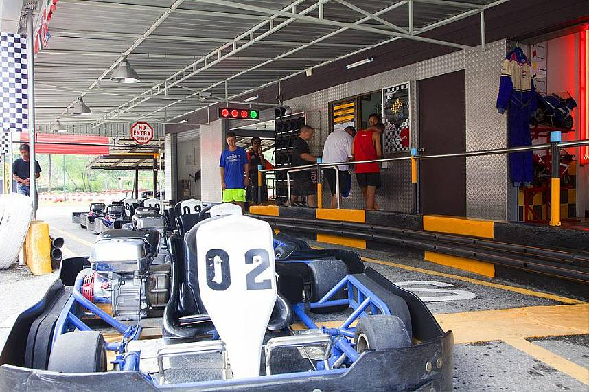 Welcome to Patong Go Kart Speedway Phuket