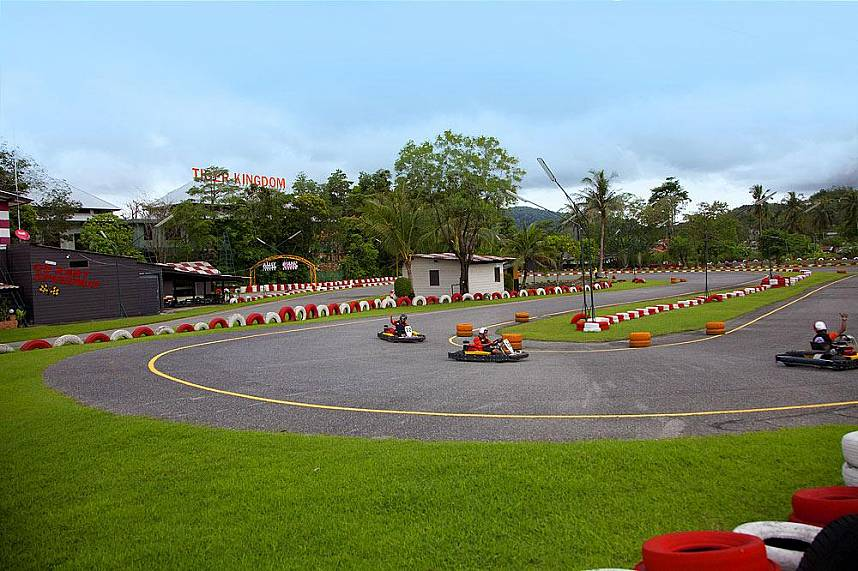 Furious rounds at Phuket Patong Go Kart Speedway