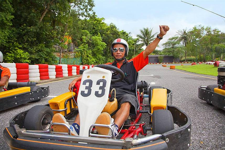 Patong Go Kart Speedway in Phuket is a great place for some fast rounds