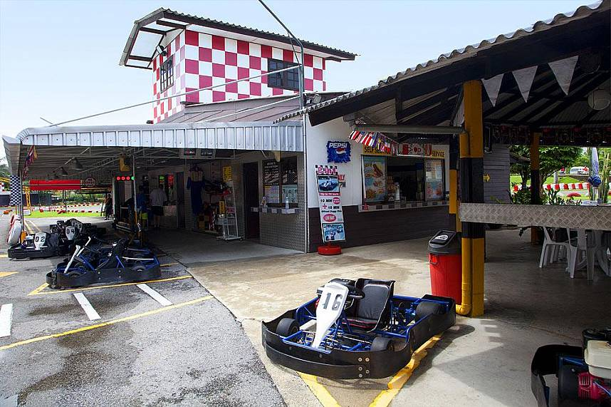 Hop in a Go Kart and show your skill at Patong Go Kart Speedway Phuket