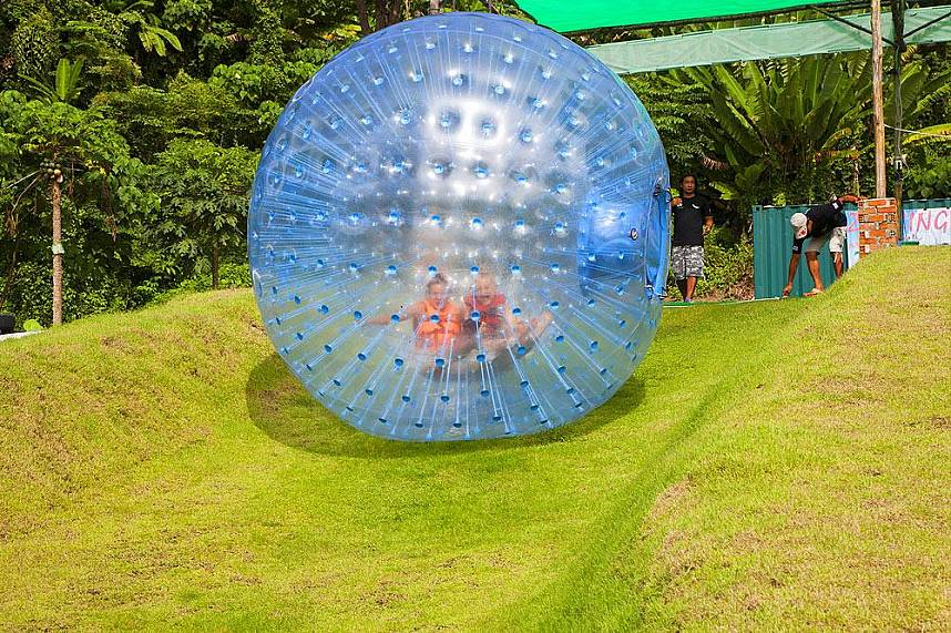 Visit Rollerball Zorbing Phuket and have an incredible time