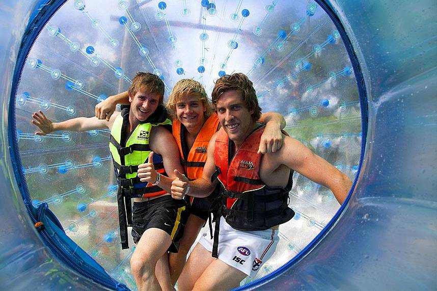 Rollerball Zorbing Phuket is one of the main attractions