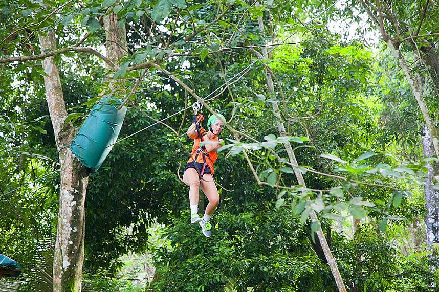 Do not miss a splendid time away from the beaches at Xtream Adventure Phuket