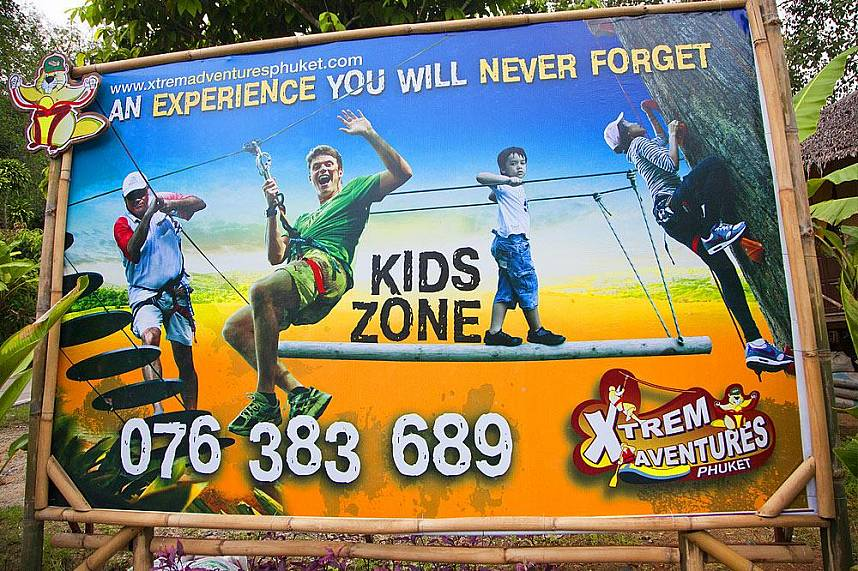 Xtream Adventure Phuket is the place to visit for the whole family