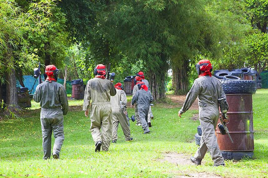Paintball Park Pattaya will be an unforgettable experience