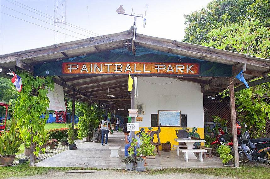 Paintball Park Pattaya welcomes all adventurous tourists