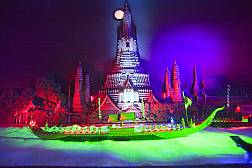 Miniature Royal Barge Perfomance