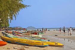 Пляж Nang Rum Beach в Саттахип