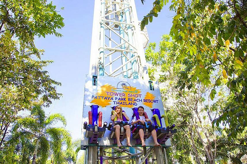 Adrenaline pure at Water Park in Pattaya