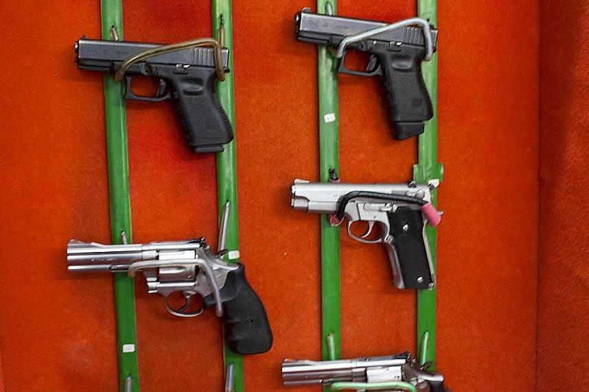 Choose your gun at Changthai Thappraya Safari and Adventure Park