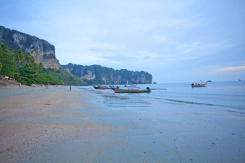 Ao Nang Beach Krabi is as picturesque as it can get - a magic place for your Thailand beach holiday