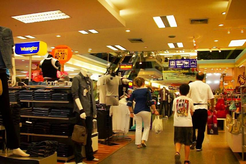 Mikes Shopping Mall in Pattaya is the perfect place for every shopping fanatic