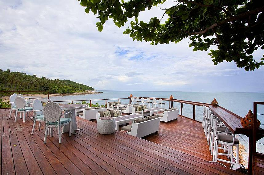 Enjoy some peaceful time at Rockpool Restaurant, one of  Koh Samui finest