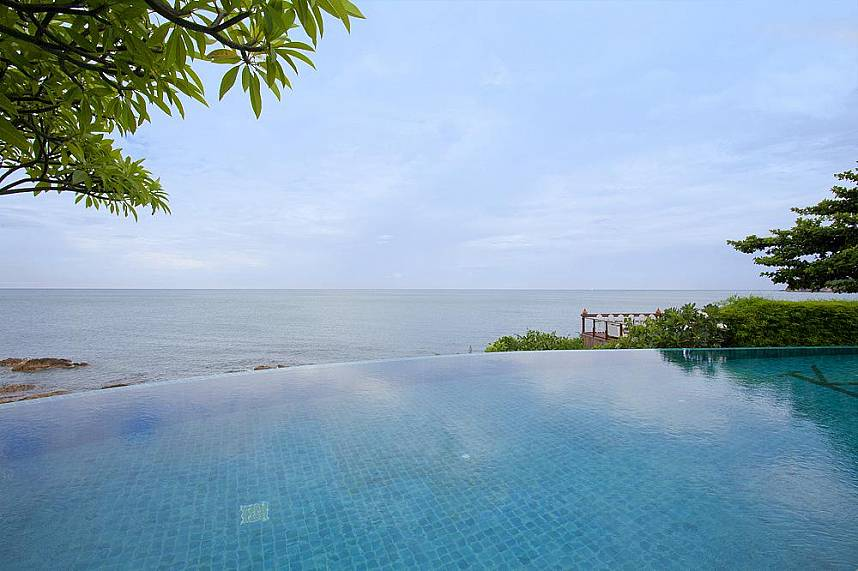 Enjoy a refreshing dip at the pool while staying at Rockpool Restaurant Koh Samui