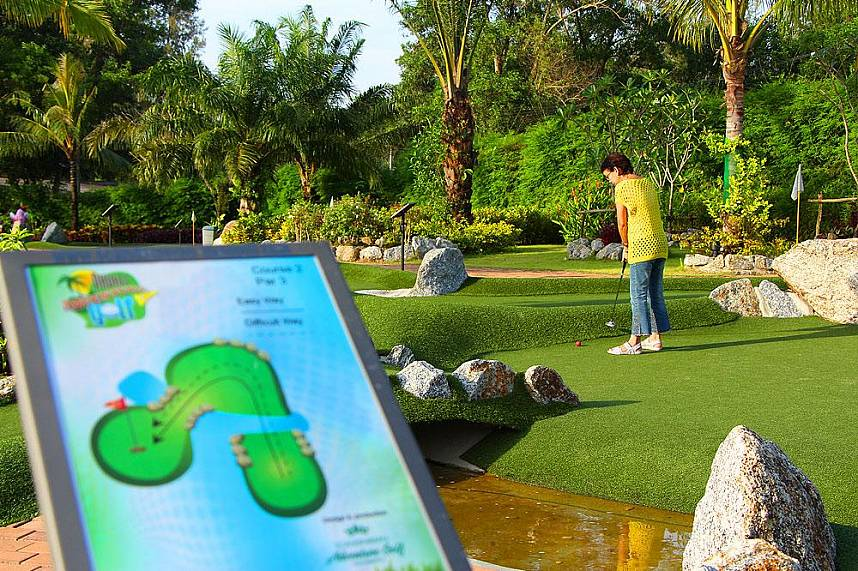 Phuket Adventure Mini Golf is a fantastic Thailand holiday attration