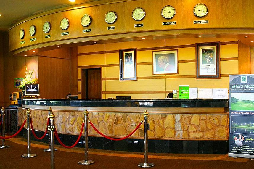 Counter at the Laem Chabang International Country Club