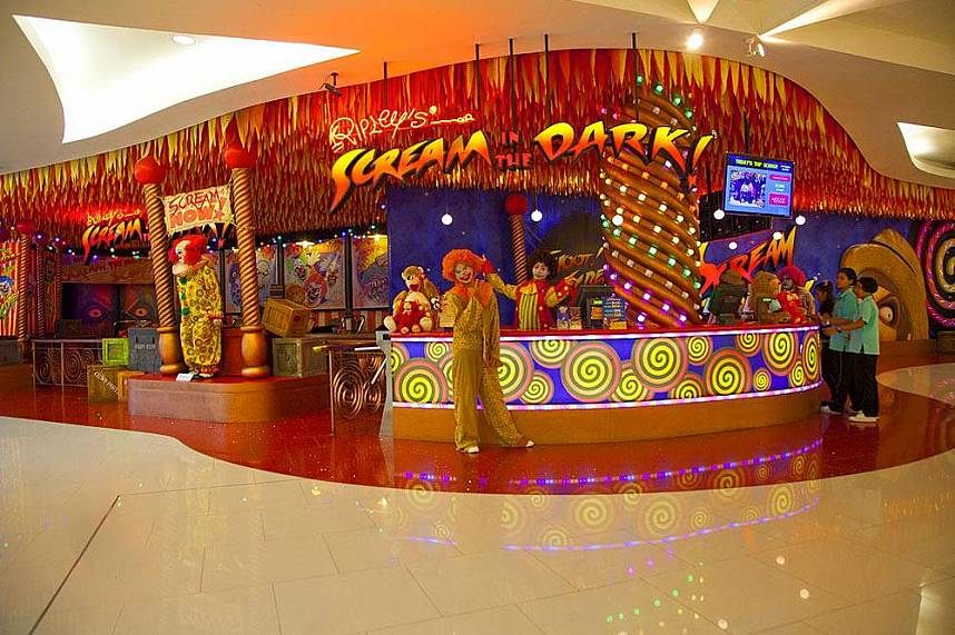 Pattaya Ripleys Believe It or Not museum is a famous family tourist attraction