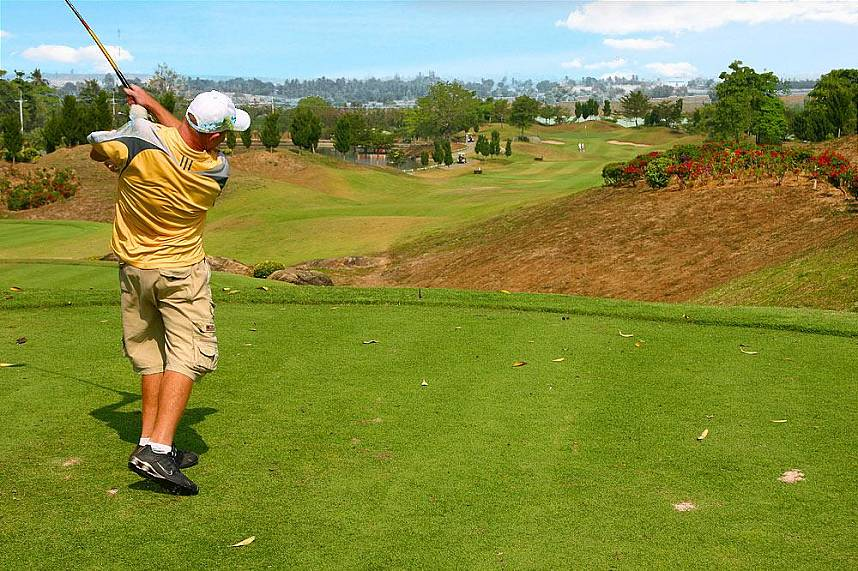 conquer this challenging course at St. Andrews 2000 Golf Club Pattaya