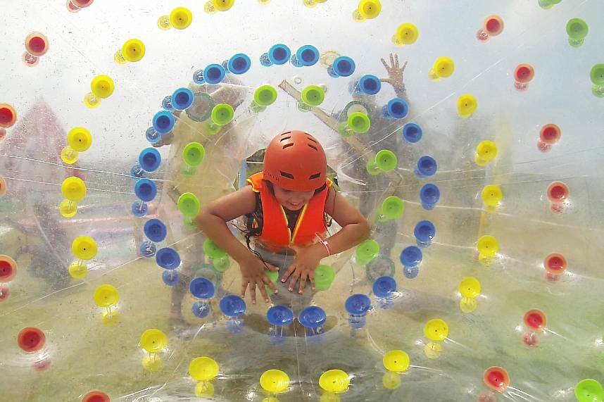 Your kids will love the great Pattaya attractions at Splashdown Waterpark Pattaya