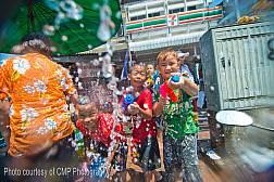 Das thailändische Neujahrsfest 2014
