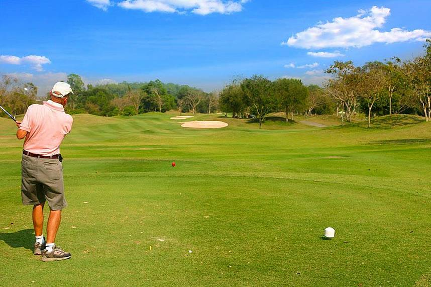 One of the famous gold courses in Thailand - Greenwood Golf and Country Club Pattaya