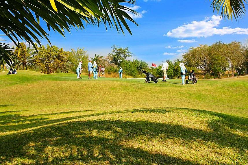 a great day at Greenwood Golf and Country Club Pattaya