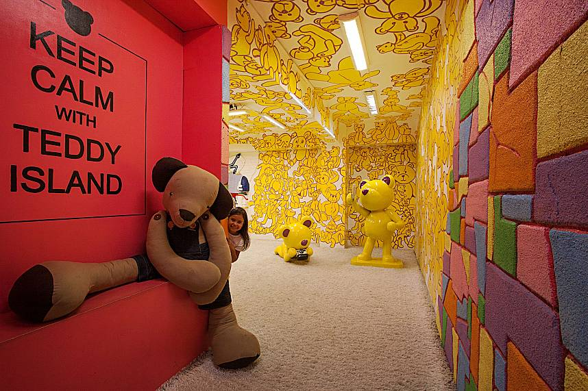 Keep Calm with Teddy Island at Pattaya Teddy Bear Museum