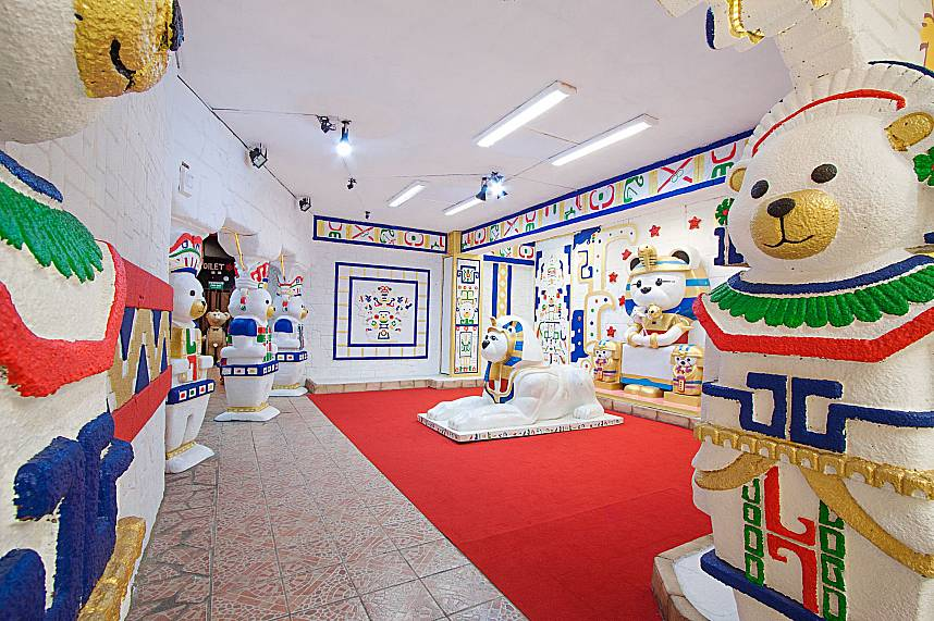 Every room at Pattaya Teddy Bear Museum will amaze the young visitors