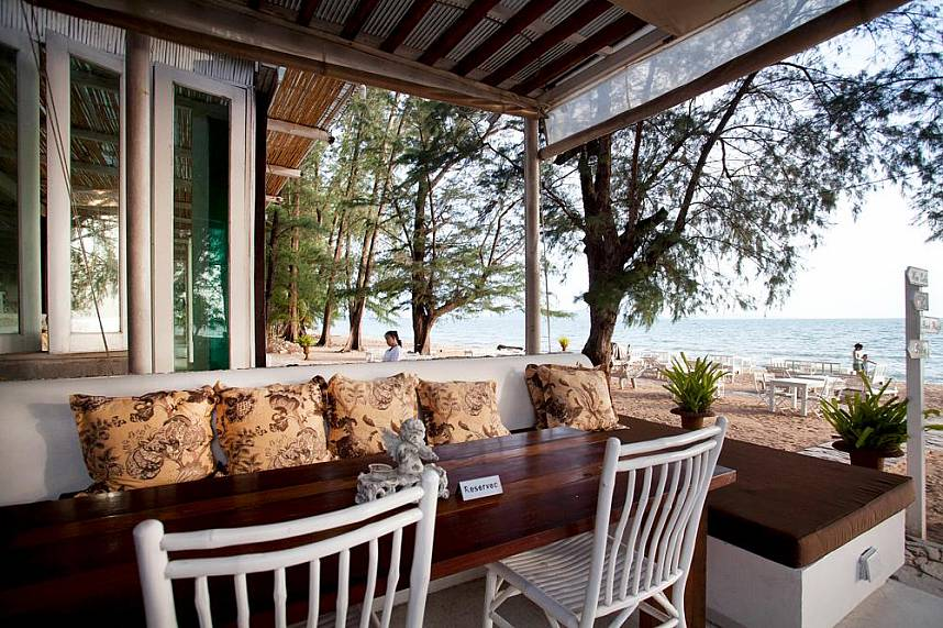 Reserve yourself a table at the beachside Glass House Restaurant Pattaya