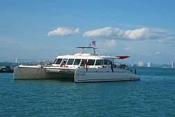 ล่องเรือ เซเรนิตี้ คาทามาราน