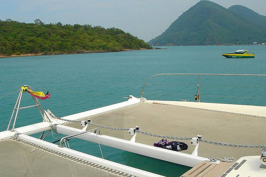Serenity Catamaran Pattaya will bring you during your Pattaya vacation to remote places