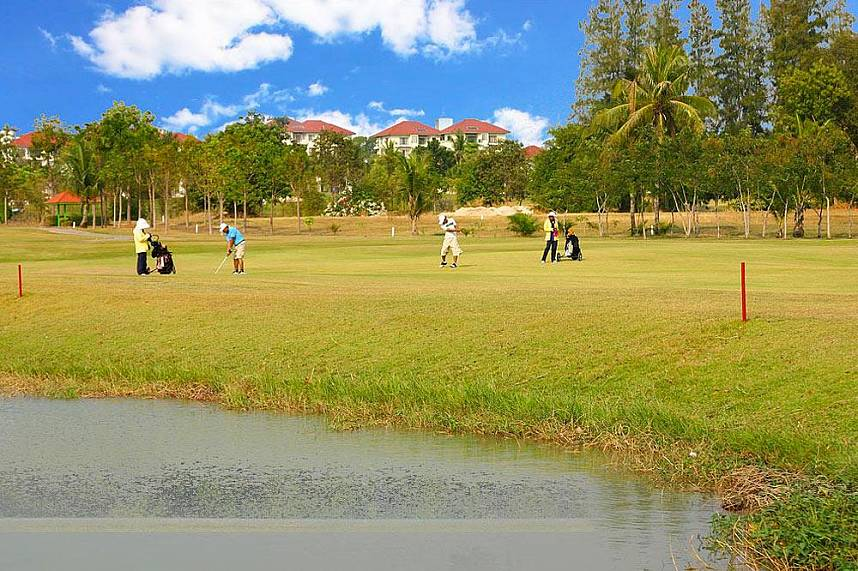 Great golf holiday at Eastern Star Golf Course Pattaya