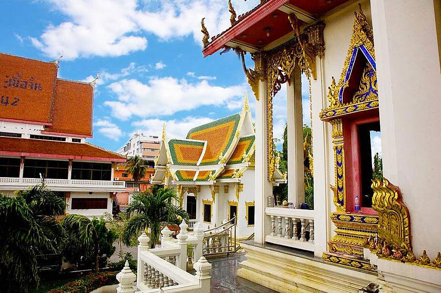 Wat Chai Mongkol is one of the most important temples in Pattaya