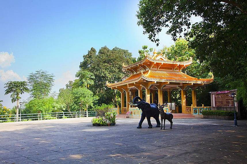 The Wang Sam Sien temple is close to Big Buddha Hill Pattaya