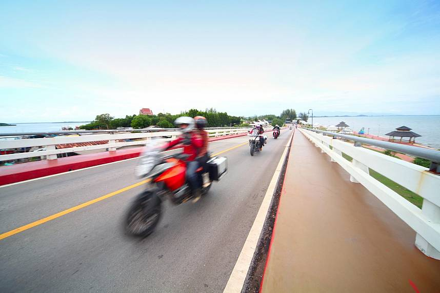 A Chanthaburi One Day Cycling Trip can be done on a motorbike as well