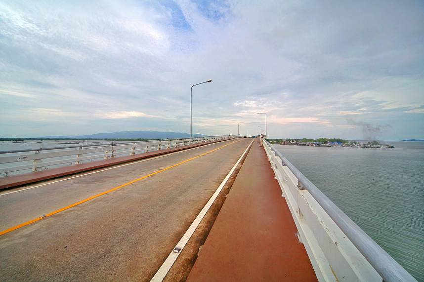 The roads have walking and cycling lanes, come and join a Chanthaburi One Day Cycling Trip