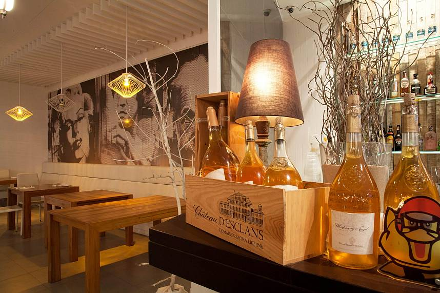 Try during a visit at Bliss Beach Club Bang Tao Phuket some of the fine wines