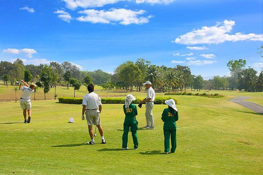 Show your skills during Executive Golf Tours in Pattaya