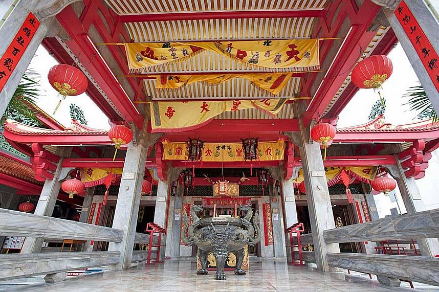 Entrance of a Phuket Chinese Temple