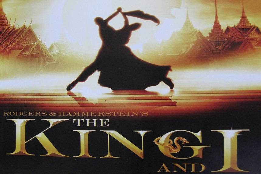The movie The King and I was not shoot in Thailand and is even banned