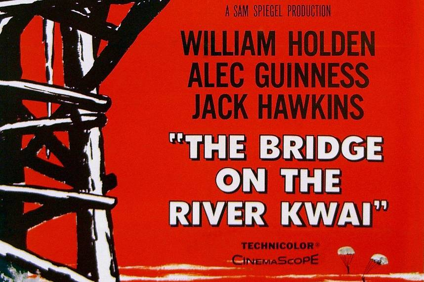 The Bridge on the River Kwai is a famous Thai story but filmed in Sri Lanka