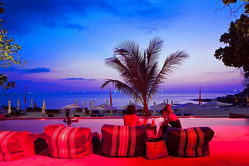 Zazada Beach Club Phuket is a great place to enjoy the mystic sunsets of Phuket